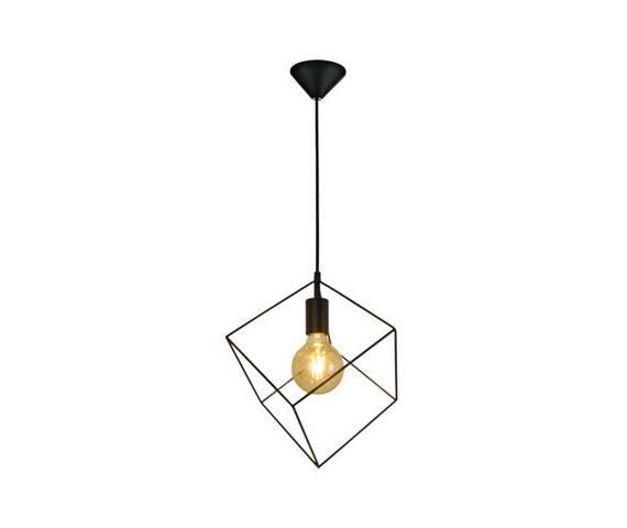 Lampa wisząca Cube P17084-D20 Zuma Line geometryczna oprawa w nowoczesnym stylu