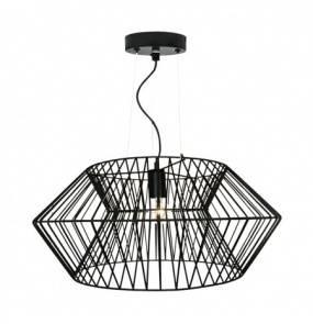 Lampa wisząca Verto P16182-D57 Zuma Line dekoracyjna oprawa w kolorze czarnym