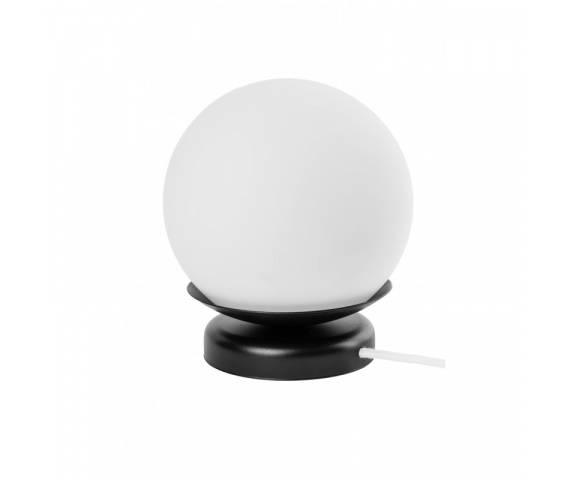 Lampa stołowa w stylu minimalistycznym Kuul ST KLS121B1 lampa stojąca czarno-biała UMMO