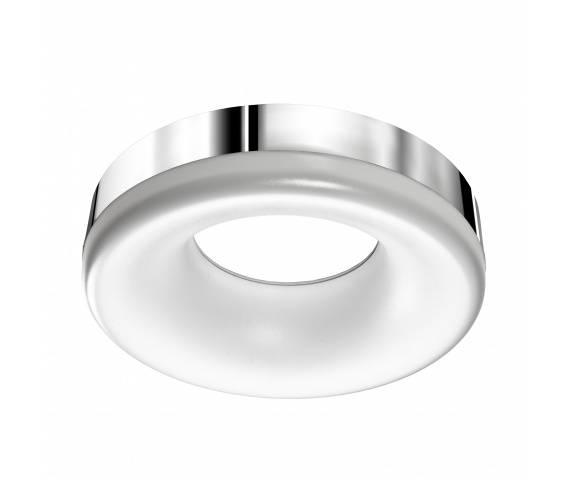 Plafon Ring LED AZ2947 AZzardo okrągła oprawa w kolorze chromu