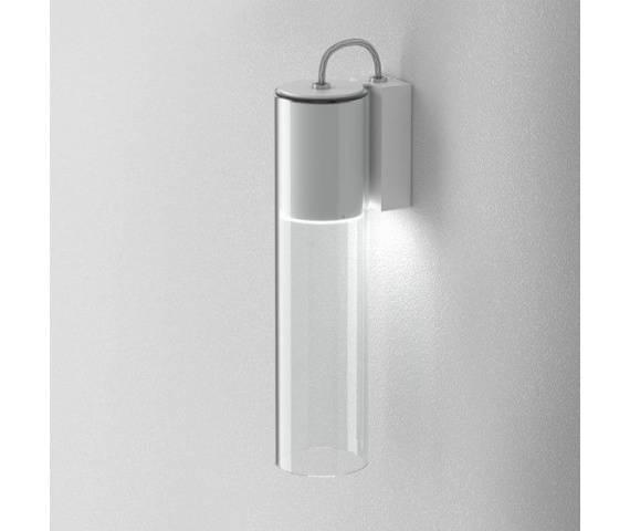 Kinkiet szklany minimalistyczny MODERN GLASS Tube LED 230V ledowa oprawa ścienna Aqform
