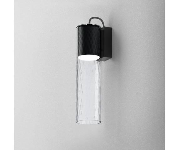 Kinkiet szklany romb minimalistyczny MODERN GLASS Tube LED 230V ledowa oprawa ścienna Aqform