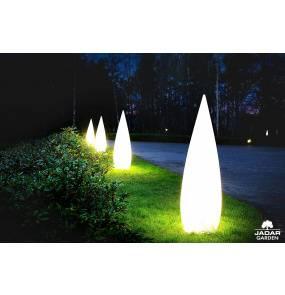 Lampa ogrodowa Duszek różne wielkości Jadar Garden dekoracyjne lampy stojące