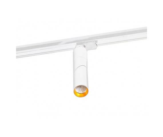 Reflektor na szynoprzewód Santos AZ2925 AZzardo ruchoma oprawa w kolorze białym