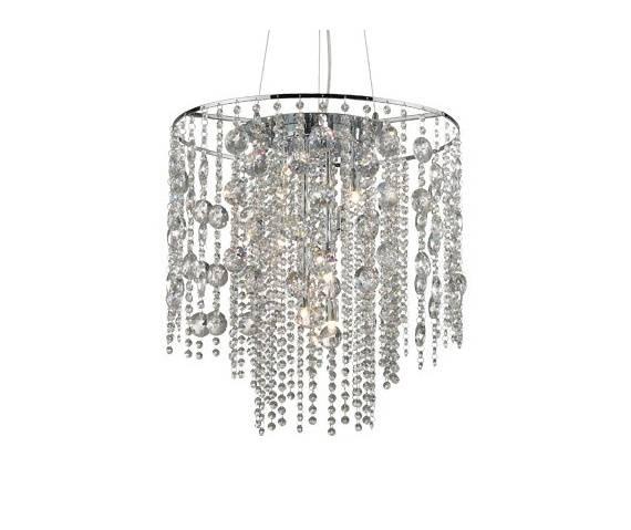 Lampa wisząca Evasione SP10 044767 Ideal Lux oprawa w stylu kryształowym