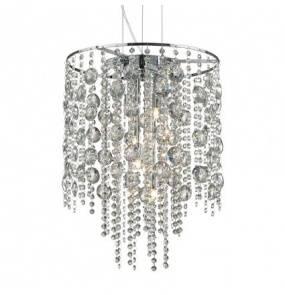 Lampa wisząca Evasione SP8 044774 Ideal Lux oprawa w stylu kryształowym