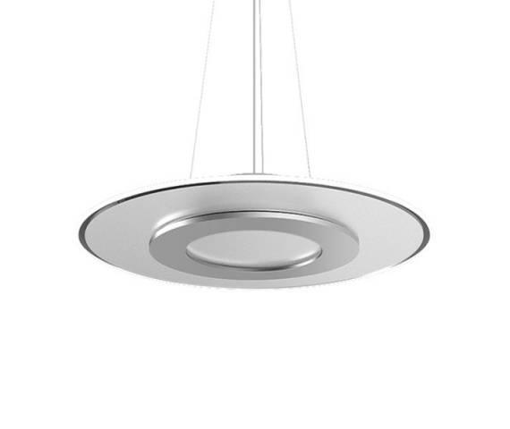 Lampa wisząca Dalen DL-2D PLUS D (SILVER) Zuma Line nowoczesna oprawa w kolorze srebrnym
