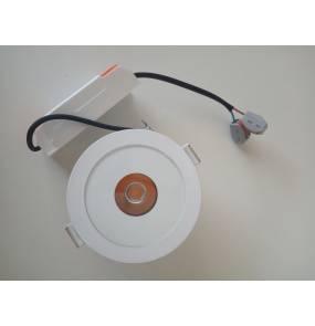 Oprawa wpuszczana Plazma H0089 Maxlight biała oprawa wpuszczana w nowoczesnym stylu