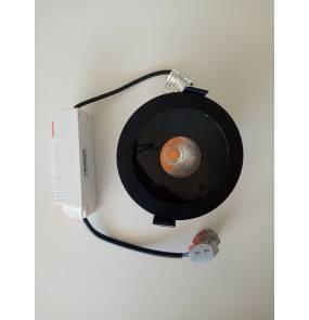 Oprawa wpuszczana Plazma H0088 Maxlight czarna oprawa wpuszczana w nowoczesnym stylu