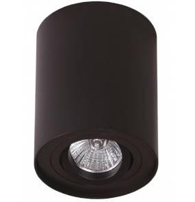 PROMOCJA! Plafon oprawa Basic Round I C0068 Maxlight czarna oprawa w nowoczesnym stylu