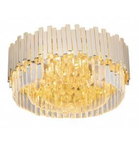 Plafon Trend C0165 MAXlight nowoczesna oprawa sufitowa w kolorze złotym