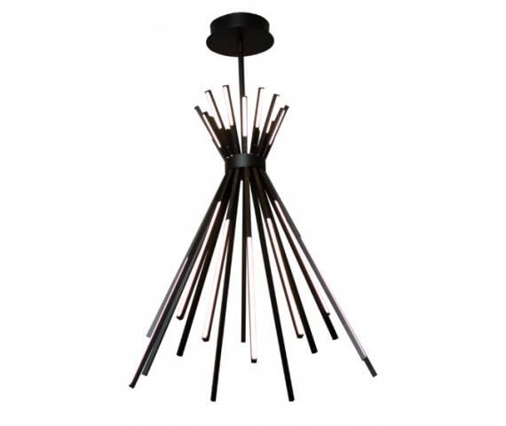 Lampa wisząca Tipi P0353 MAXlight nowoczesna oprawa w kolorze czarnym