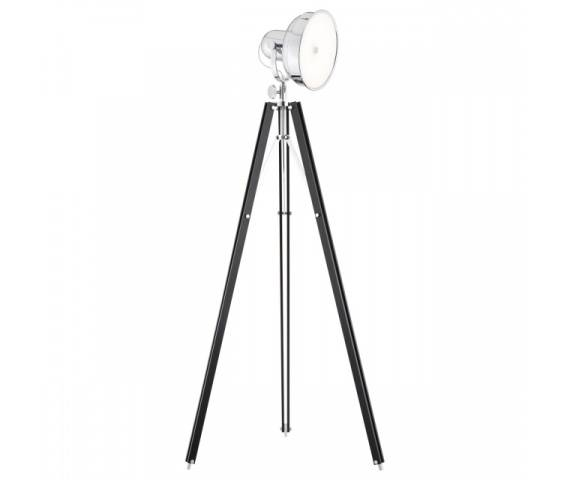 Lampa podłogowa Foto New 3355 Argon nowoczesna oprawa w kolorze czarnym
