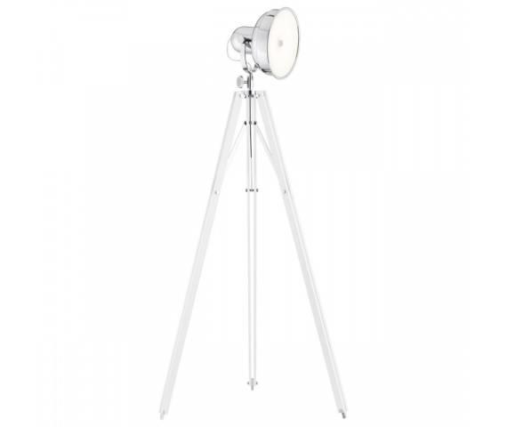 Lampa podłogowa Foto New 3356 Argon nowoczesna oprawa w kolorze białym