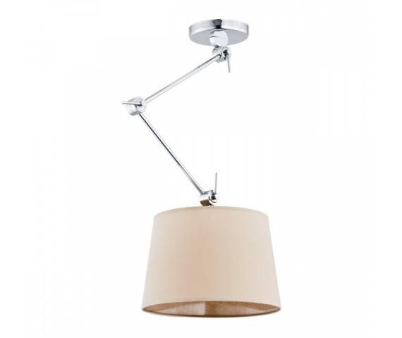 Lampa wisząca Zakyntos 3549 Argon nowoczesna oprawa w kolorze beżowym