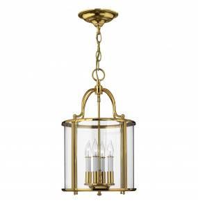 Lampa wisząca Gentry HK/GENTRY/P/M PB Hinkley mosiężna oprawa w dekoracyjnym stylu