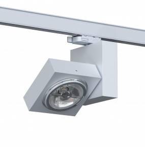 Reflektor do szynoprzewodu Aspen T008A1Th102 Cleoni oprawa kierunkowa w kolorze srebrny połysk