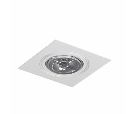 Oczko stropowe pojedyncze Mara T018E1Ah117 Cleoni oprawa wpuszczana w kolorze białym