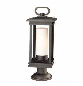Lampa stojąca South Hope KL/SOUTH HOPE3/L Kichler latarnia ogrodowa w kolorze brązu
