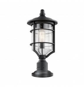 Lampa stojąca zewnętrzna Royal Marine KL/ROYALMARINE3/M Kichler latarnia ogrodowa w kolorze czarnym
