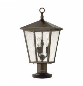 Lampa stojąca Trellis HK/TRELLIS3/L Hinkley latarnia ogrodowa w klasycznym stylu