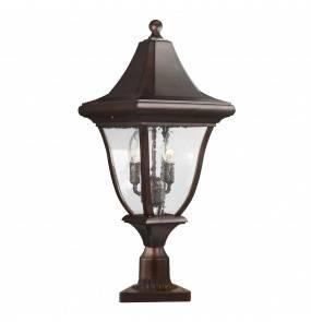 Lampa stojąca Oakmont FE/OAKMONT3/M Feiss latarnia ogrodowa w klasycznym stylu