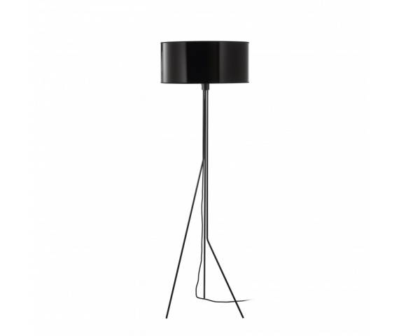 Lampa podłogowa Diagonal 855A-G05X1A-02 Exo nowoczesna oprawa w kolorze czarnym