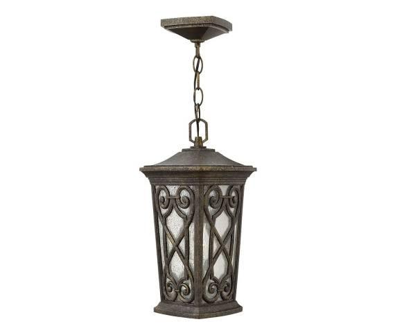 Lampa wisząca Enzo HK/ENZO8/S Hinkley zewnętrzna oprawa w klasycznym stylu