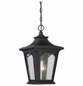 Lampa wisząca Bedford QZ/BEDFORD8/S Quoizel klasyczna oprawa w kolorze czarnym