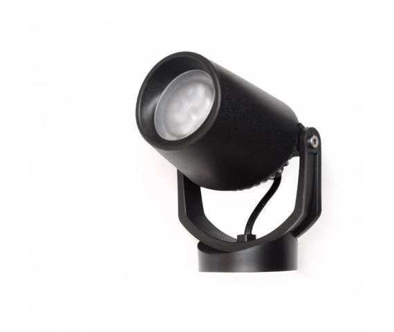 Reflektor zewnętrzny Lulu 572A-GG21X1A Dopo nowoczesna oprawa w kolorze czarnym