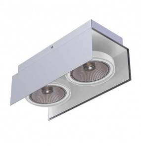 Reflektor natynkowy Andar A2Sh różne kolory Cleoni podwójna ruchoma oprawa w minimalistycznym stylu