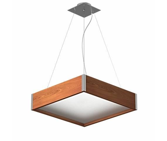 Lampa wisząca Avatar 400 1172W4 różne kolory Cleoni kwadratowa oprawa w nowoczesnym stylu