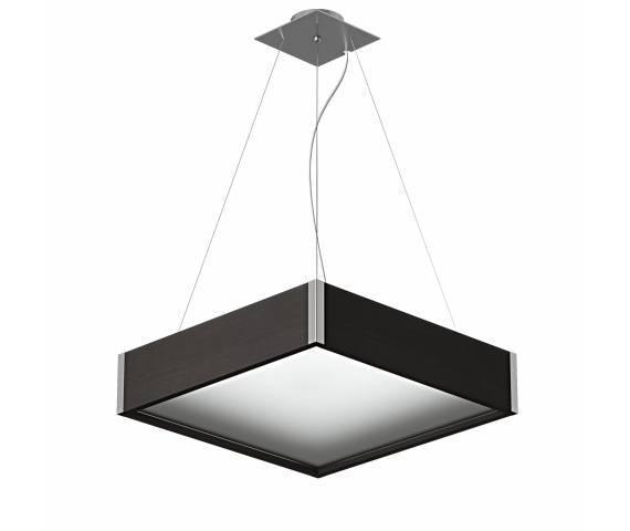 Lampa wisząca Avatar 500 1172W5 różne kolory Cleoni kwadratowa oprawa w nowoczesnym stylu