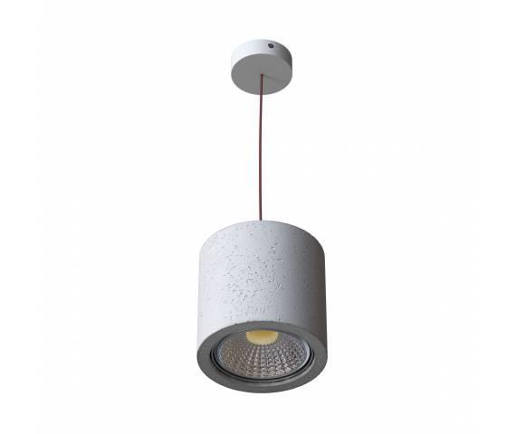 Lampa wisząca Monax 1213Z1 różne kolory Cleoni betonowa oprawa w nowoczesnym stylu