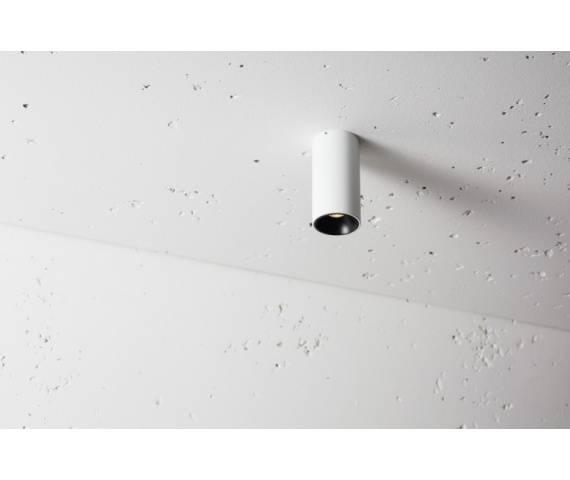 Lampa natynkowa Texo XS.50 LED NT 3.1185.08.830 Labra biała oprawa sufitowa w kształcie tuby