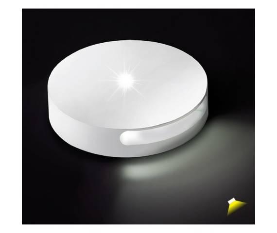 Oprawa schodowa Chip 8027 BPM Lighting okrągła oprawa wpuszczana w kolorze białym