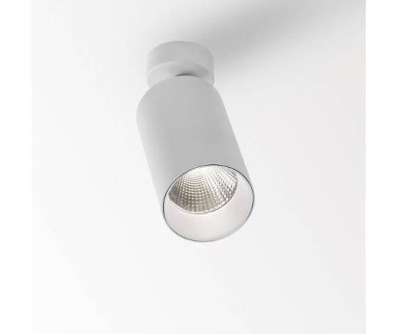 Oprawa natynkowa MAXISPY ON 83035 DIM 1 Delta Light biała oprawa w nowoczesnym stylu