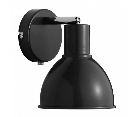 Kinkiet Pop 45841003 Nordlux czarna oprawa w nowoczesnym stylu