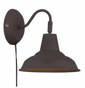 Kinkiet Andy 48491009 Nordlux czarna oprawa ścienna w stylu loft