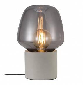 Lampa stołowa Christina 48905011 Nordlux betonowa oprawa w kolorze szarym