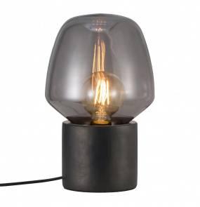 Lampa stołowa Christina 48905003 Nordlux betonowa oprawa w kolorze czarnym