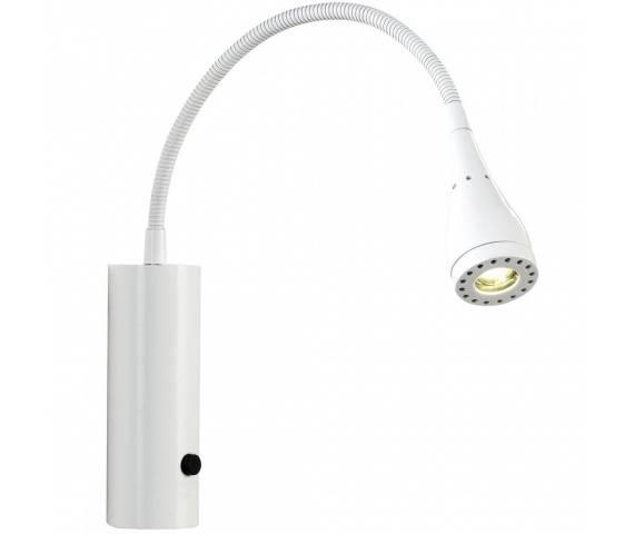 Kinkiet Mento 75531001 Nordlux biała oprawa ścienna z elastycznym wysięgnikiem