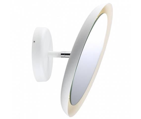 Kinkiet łazienkowy z lustrem IP S10 78471001 Nordlux biała oprawa w nowoczesnym stylu