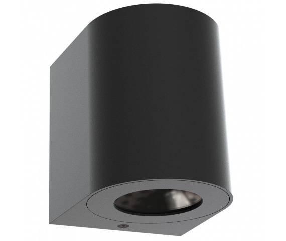Kinkiet zewnętrzny Canto 2 49701003 Nordlux czarna oprawa ścienna w nowoczesnym stylu