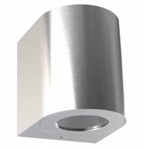 Kinkiet zewnętrzny Canto 2 49701034 Nordlux stalowa oprawa ścienna w nowoczesnym stylu