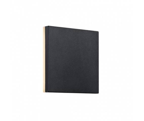 Kinkiet zewnętrzny Artego 46951003 Nordlux czarna kwadratowa oprawa ścienna