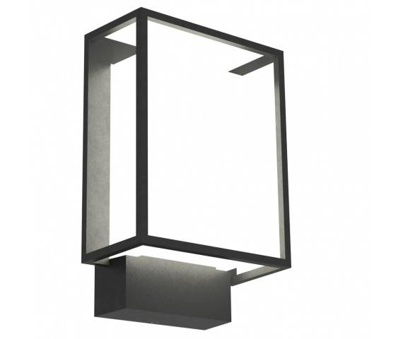 Kinkiet zewnętrzny Nestor 49041003 Nordlux czarno-biała oprawa w nowoczesnym stylu