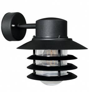 Kinkiet zewnętrzny Vejers 74471003 Nordlux czarna oprawa w nowoczesnym stylu