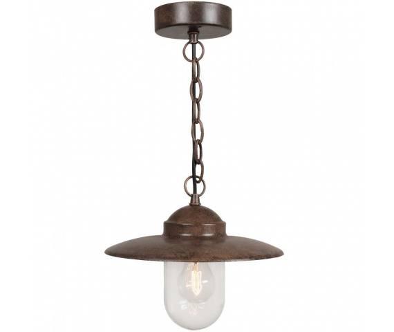 Lampa wisząca Luxembourg 72805009 Nordlux oprawa zewnętrzna w kolorze rdzawym