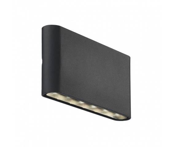 Kinkiet zewnętrzny Kinver 84181003 Nordlux minimalistyczna oprawa w kolorze czarnym
